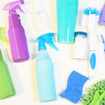 Easily Clean Your House With An Organized Cleaning Caddy + Cleaning Tips!