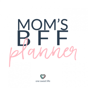 mom planner | life planner | family planning | daily planner | organized living | personal organizer
