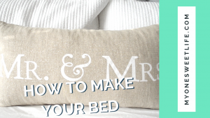 One Sweet Life | OSLchat Make Your Bed