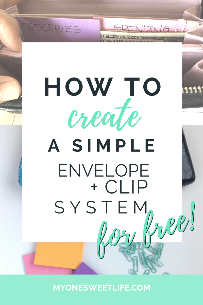 cash envelope system | clip system | diy cash envelope wallet | saving my money | how to save money | budgeting for beginners