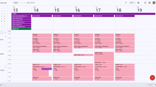 Google Calendar To Customize Your Cleaning Schedule