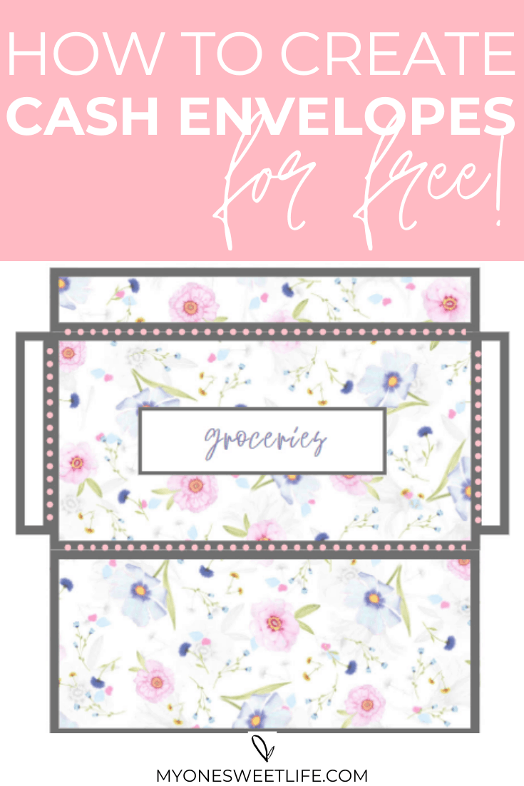 How To Create Cash Envelopes For Free Using Canva One Sweet Life
